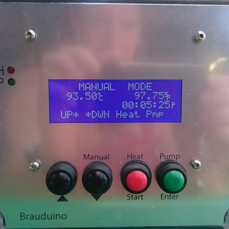 brauduino - in manual mode with pump, but pump doesn't turn on