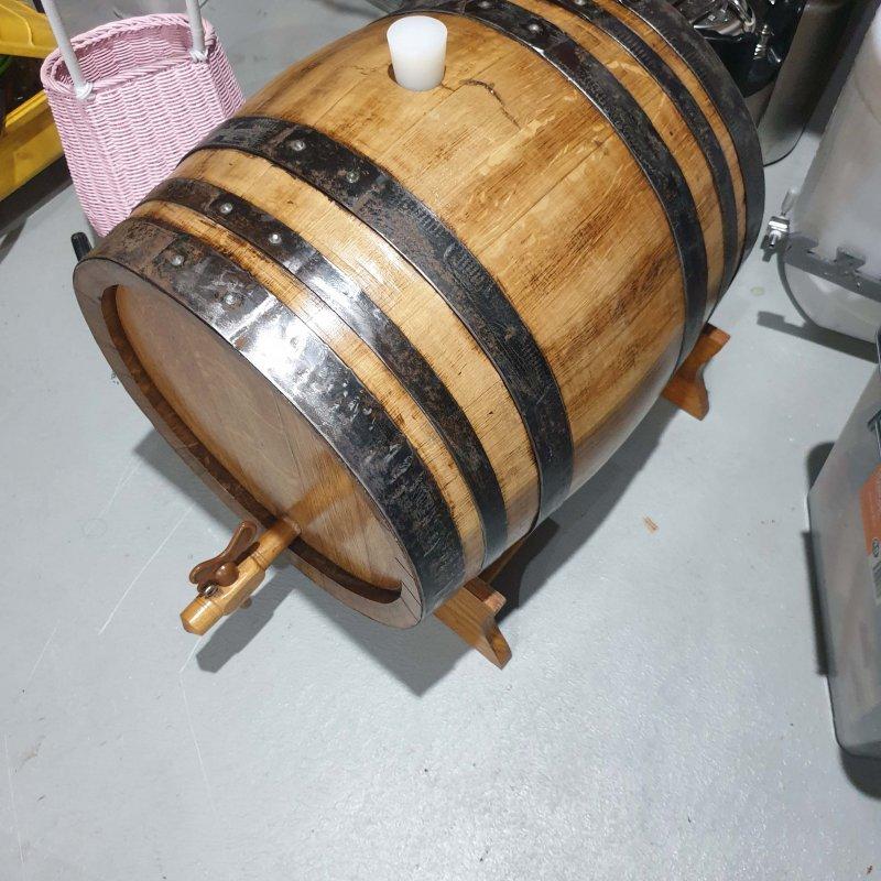 60l oak barrel