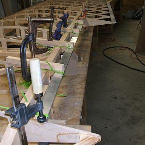 setting aileron trialing edge