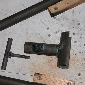Skybolt Axle Jig Top Parts