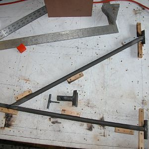 Skybolt Axle Support Jig