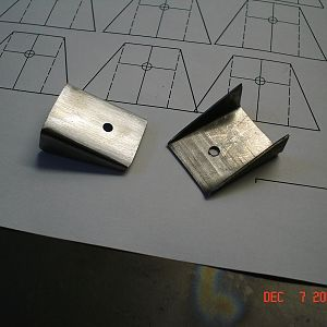 Two mounting tabs