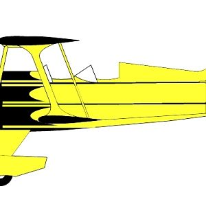 Side view of South Jersey Skybolt