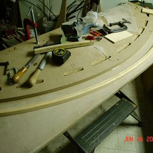 Radial Skybolt Upper Wing Center Section trailing edge