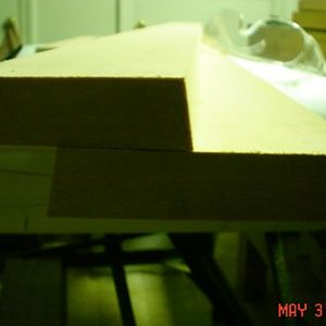 Spars for Radial Skybolt Upper Wing Center Section