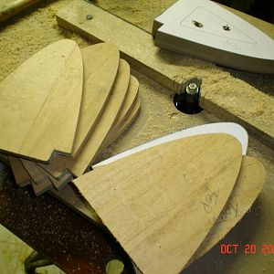 Radial Skybolt Upper Wing Center Section nose ribs