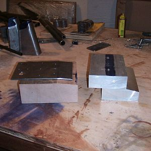 D wing attachment bending blocks