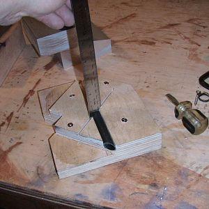 brake pedal tubing miter box