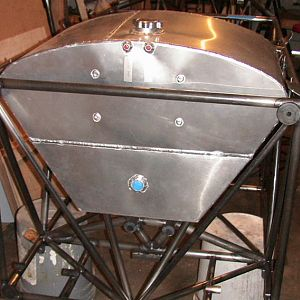 fuel tank from above