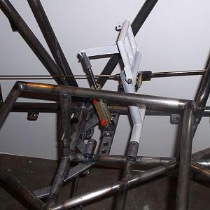 Pilot's rudder pedals