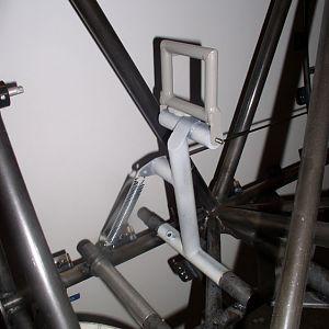 Passenger's rudder pedal