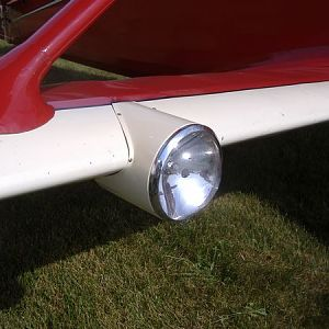 landing light detail