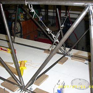 Installing Turnbuckles