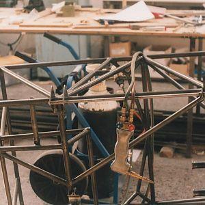Left side landing gear mounts
