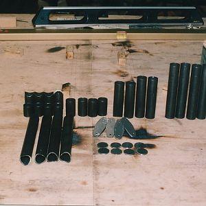 Rudder pedal parts