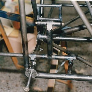 Rudder pedal alignment