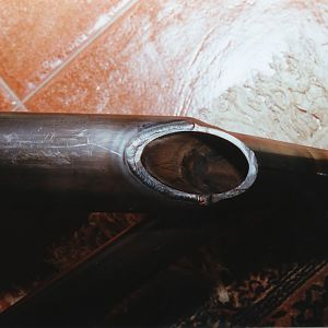 Trimming axle end