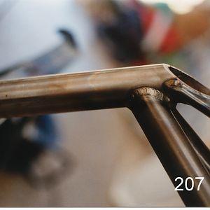 Axle welding