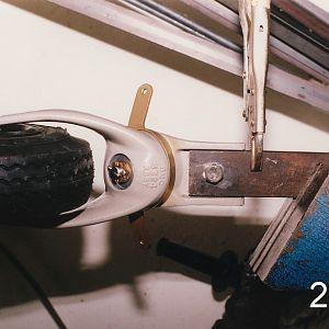 Tailwheel mounting