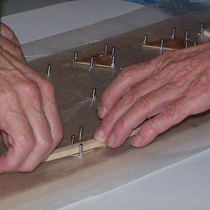 Assembling wing rib - jig
