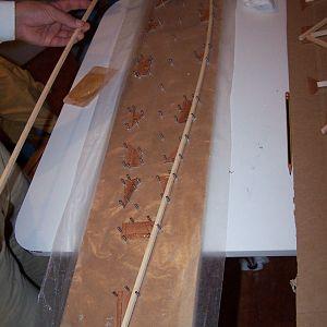 Assembling wing rib