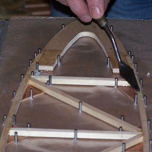 Wing rib - installing nose piece