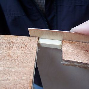 Wing rib - checking for leading edge fit