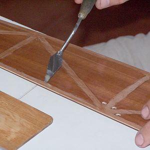 Rib sheeting