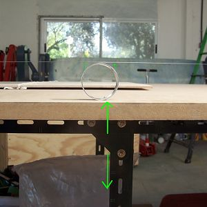 Wing table construction