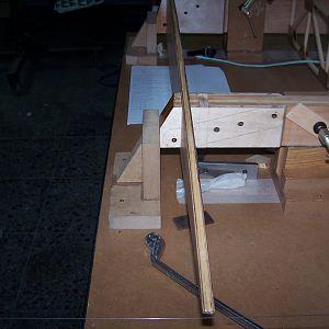 Wing spar racks