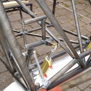 rudder pedals and brakes