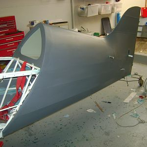 Stewart Systems covering of the fuselage