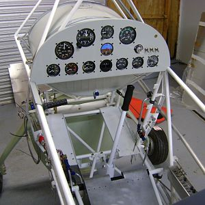 Final instrument panel layout