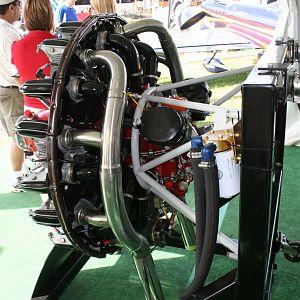 My engine on display at Sun & Fun