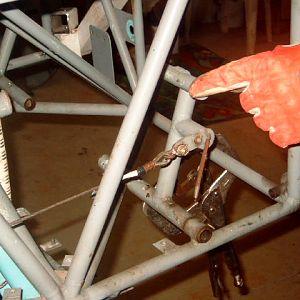 Rt front Rudder pedal