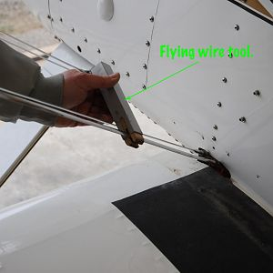 Flying Wire Tool Detail
