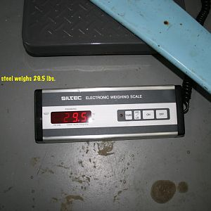 Landing gear weight compare