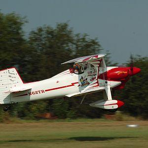 Bob taking off on first Toot flight