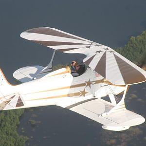 Gary Platner flying Tinkerbell