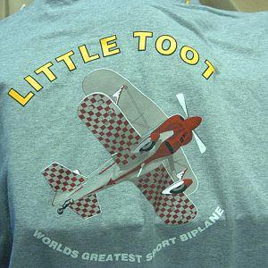 Back of Little Toot T-Shirt