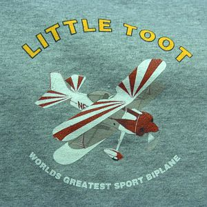Front of Little Toot T-Shirt