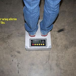 Aileron Weight