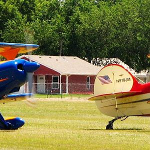 Steen Skybolts at the 2012 National Biplane Fly In