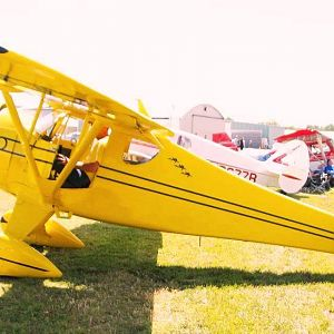 Monocoupe 90A/165 at 2012 National Biplane Fly In
