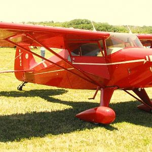 Piper Pacer at 2012 National Biplane Fly In, Junction City, KS