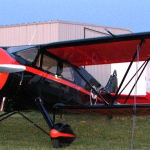 Waco EGC-8 cabin biplane at 2012 National Biplane Fly In