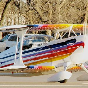 Christen Eagle at Stearman Field (Benton Airport, KS)
