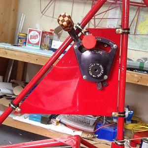 Throttle quad mount