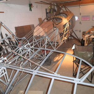 Stringers and sheet metal taking shape