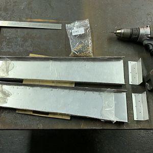Drilling Compression Strut Angle holes